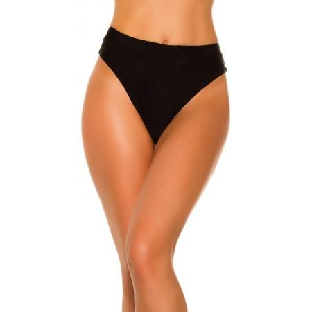 Bikini da donna triangolo slip bralisiana elasticizzato leopardato moda mare